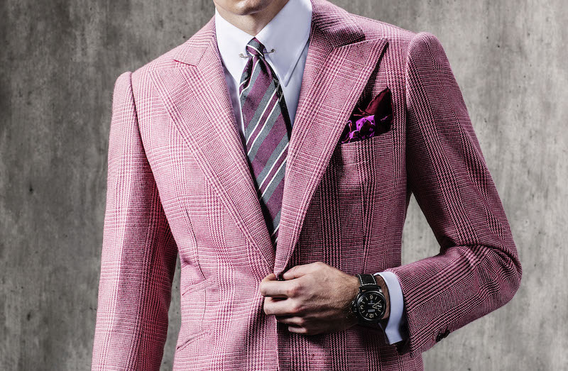 Edward Sexton grenadine tie, burgundy, shop The Rake