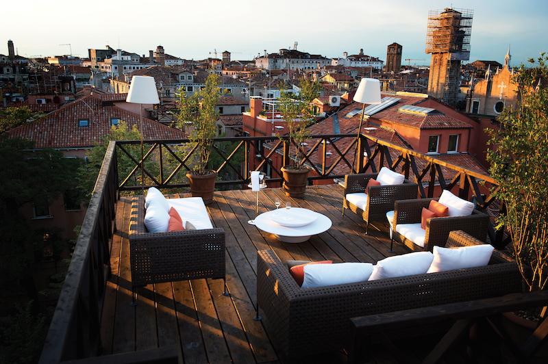Aman Canal Grande Venice, Altana Roof Terrace
